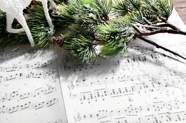 Musique et décoration de noël agrandi