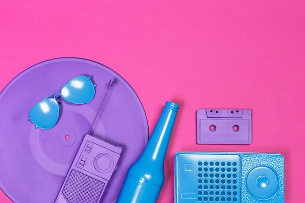Musique plat poser objets
