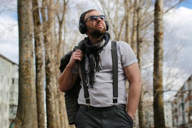 Musique de rue masculine