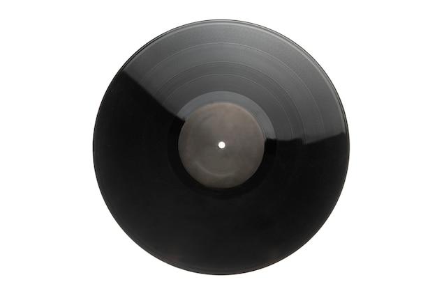 Une musique vintage, des disques vinyles isolés, un son hi-fi