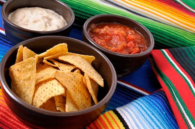 Nachos mexicains