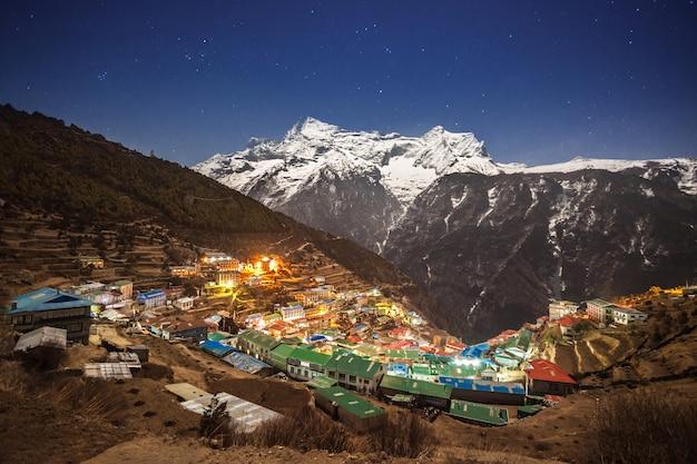 Namche bazaar, népal