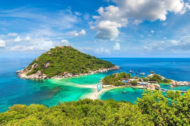 Nang yuan island, koh tao, thaïlande