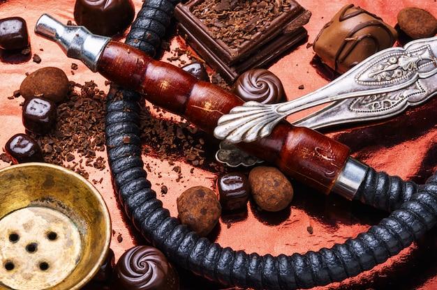 Narguilé shisha au chocolat