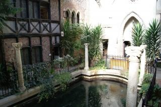 Natation jardin intérieur