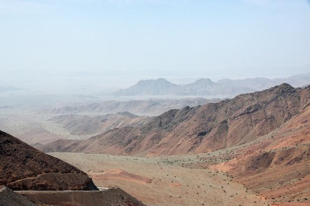 Nature du grand canyon d'arabie saoudite