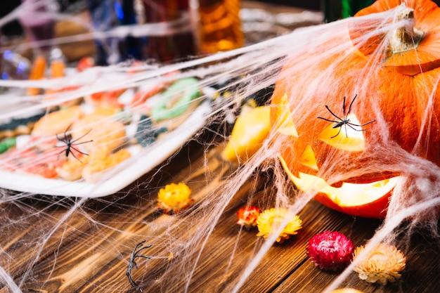 Nature morte d'halloween