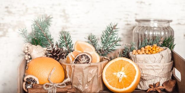 Nature morte à l'orange et à l'argousier