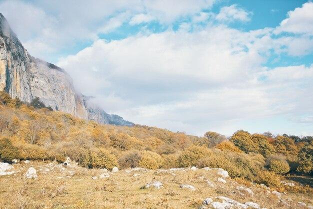 Nature nuages voyage montagnes paysage air frais