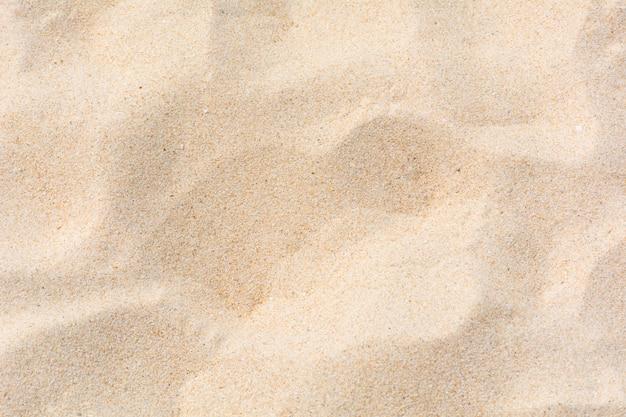 Nature de sable sur la plage en arrière-plan