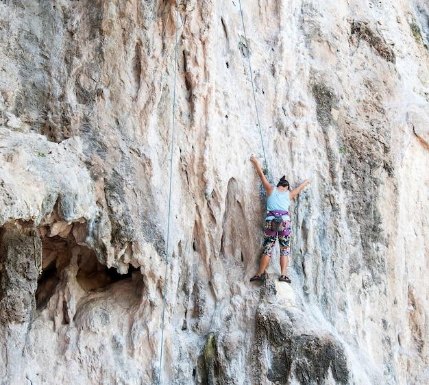 Nature voyage rock extrême en plein air
