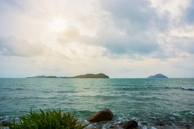 Naturellement belle vue sur la mer