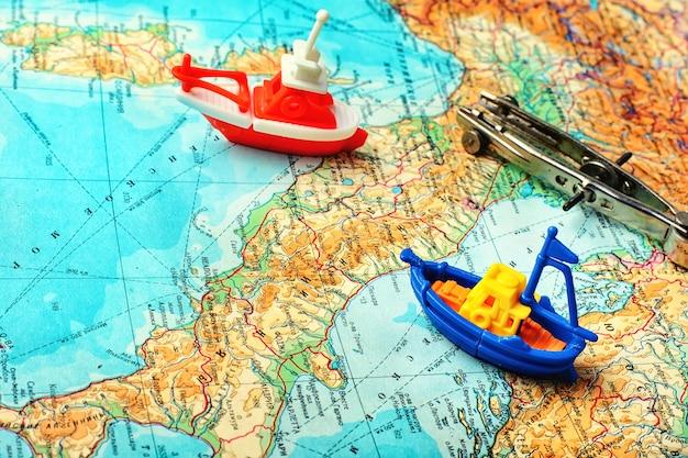 Navigateur de carte marine