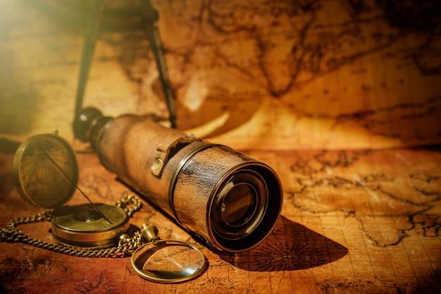 Navigation géographique de voyage