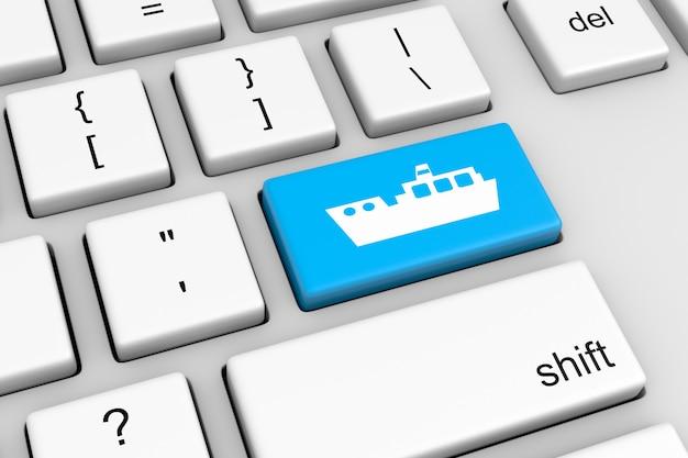 Navire en ligne