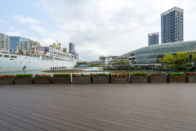 Navires de croisière de luxe dans le monde maritime de shenzhen