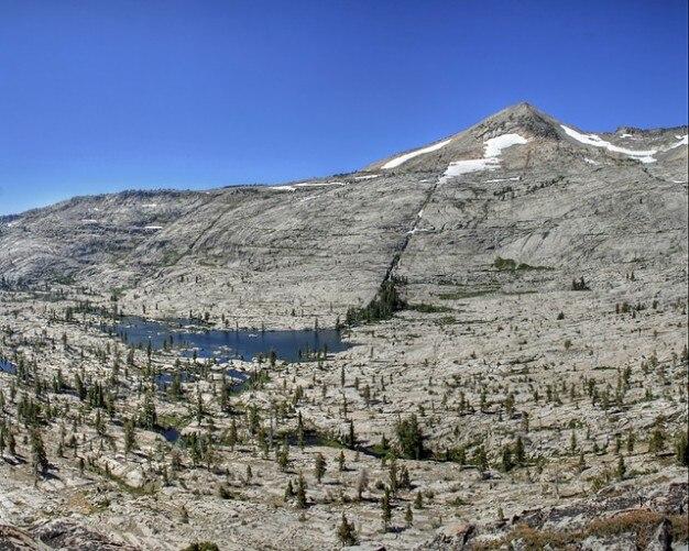 Neige, ciel, eau de source idaho lac montagnes arbres