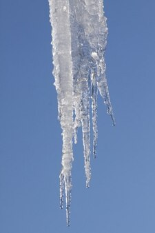 Neige de l'hiver glace gel froid glaçon