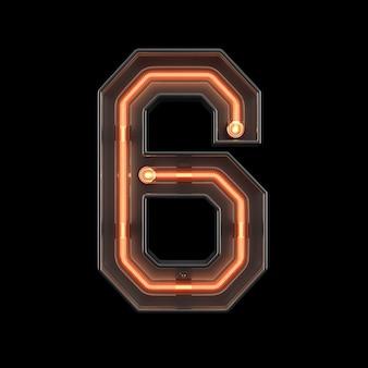 Néon numéro 6
