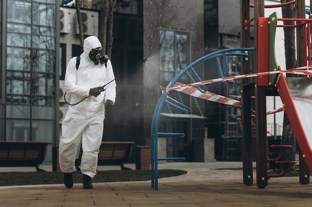 Nettoyage et désinfection en ville