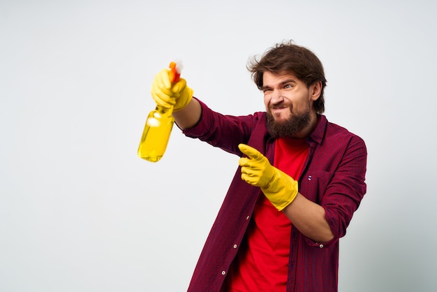 Nettoyant nettoyage hygiène hygiène soins à domicile
