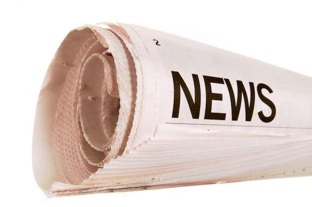 Newspaper nouvelles headline