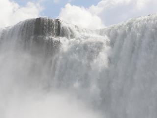 Niagara falls, de la brume