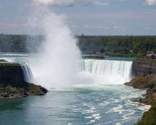 Niagara falls tomber