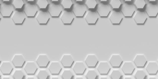 Nid d'abeille formes cadre copie espace fond