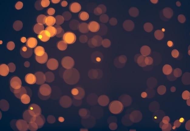 Noël. abstrait bokeh festif