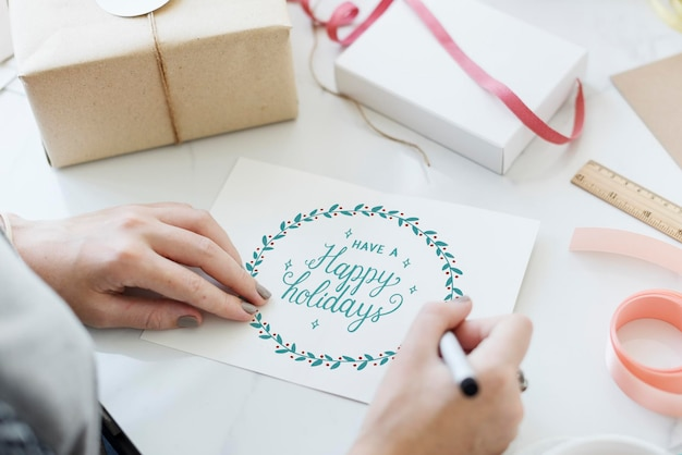 Noël cheers celebration party concept de noël