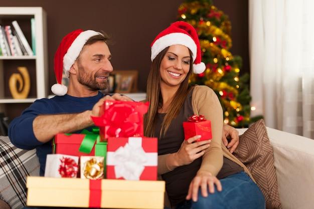 Noël est l'heure des cadeaux