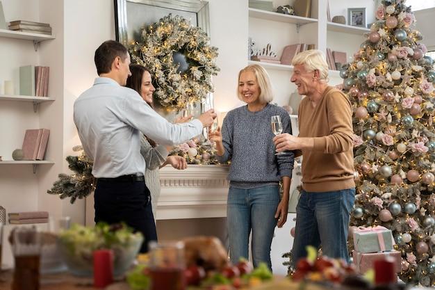 Noël en famille à la maison