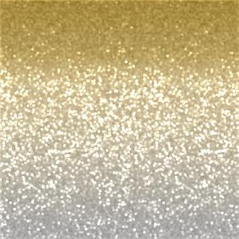 Noël fond de l'effet de paillettes d'or