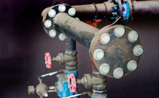 Noeud en acier avec l'industrie de pression de tuyau