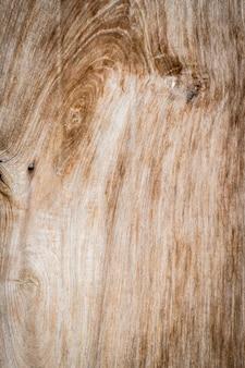 Noeud d'arbre sur une verticale planche de bois à proximité