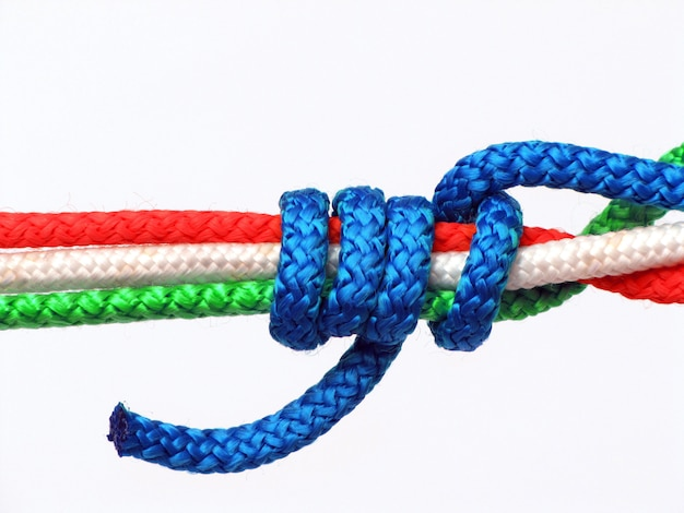 Nœud tricolore, italie