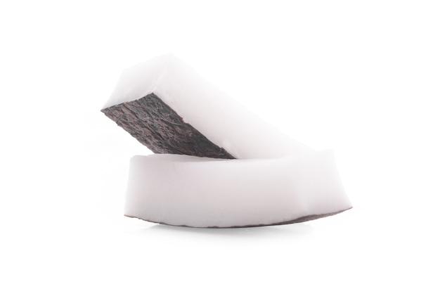 Noix de coco isolé sur fond blanc