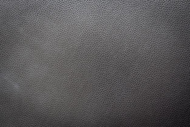 Nom: gros plan de cuir noir et fond de texture