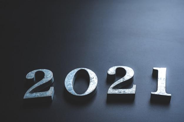 Le nombre 2021, nouvel an