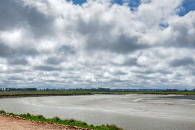 Normandie paysage hdr