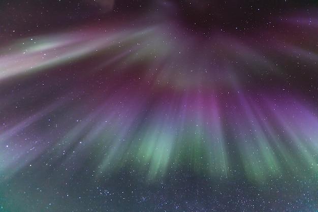 Northern aurora light islande