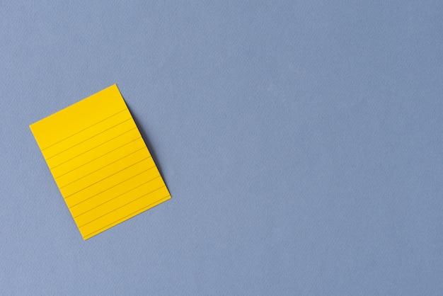 Note espace jaune
