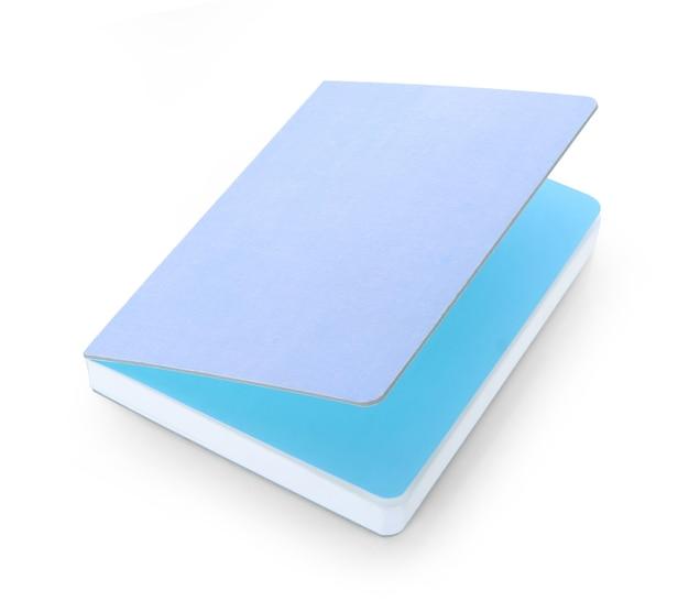 Note de papier isolé sur fond blanc.