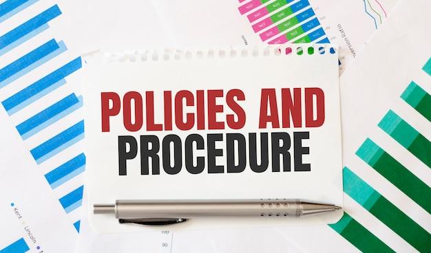Note avec texte politiques et procédure. mise à plat