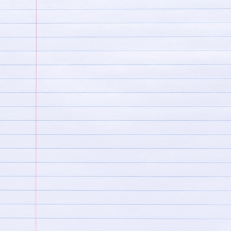 Notebook lined paper background fond de texture