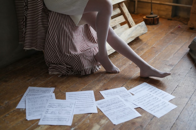 Notes de musicien