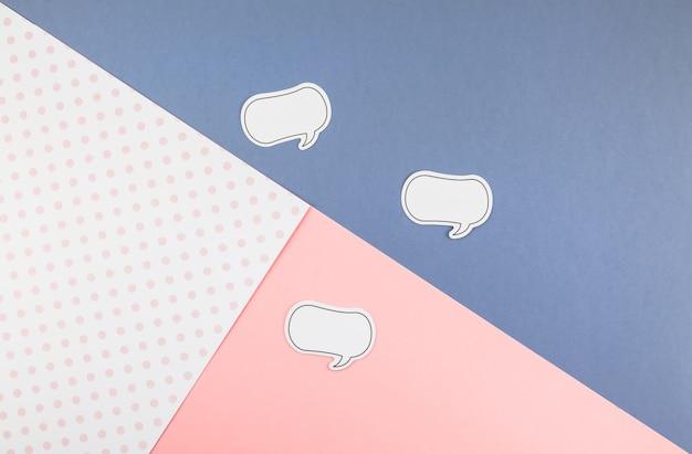 Notes de papier bulle autocollant