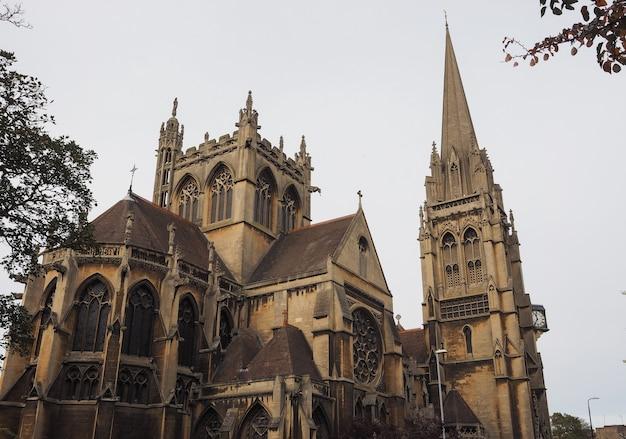 Notre-dame et l'église des martyrs anglais à cambridge