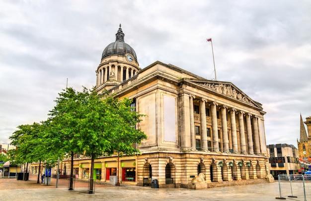 Nottingham city council building en angleterre, royaume-uni